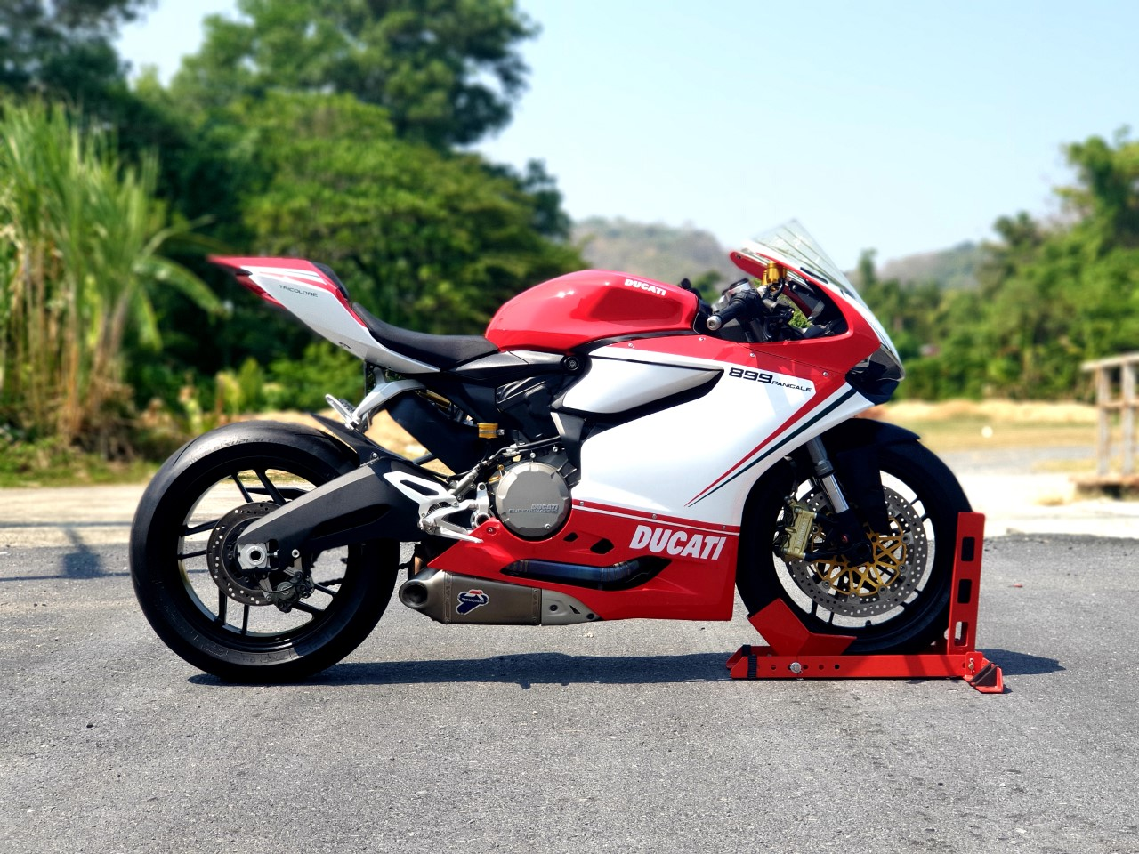 Ducati 899 Panigale มือสอง ปี 2015
